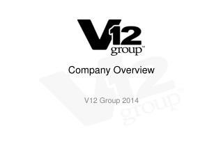 Company  O verview