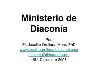Ministerio de Diacon a
