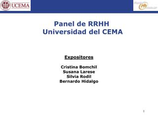 Panel de RRHH  Universidad del CEMA