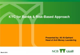 KYC for Banks & Risk-Based Approach