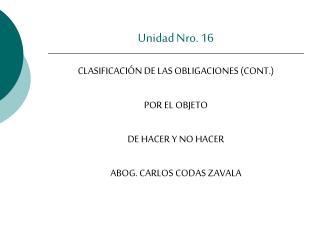Unidad Nro. 16