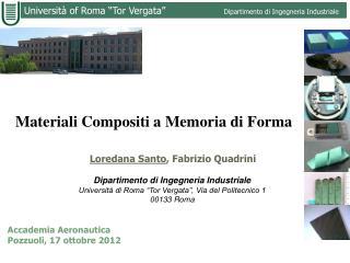 Materiali Compositi a Memoria di Forma