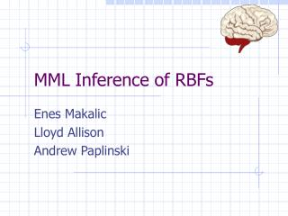 MML Inference of RBFs