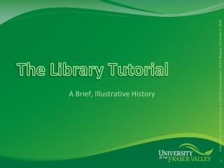 The Library Tutorial