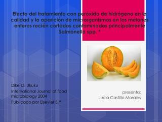 presenta: Lucia Castillo Morales