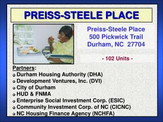 PREISS-STEELE PLACE