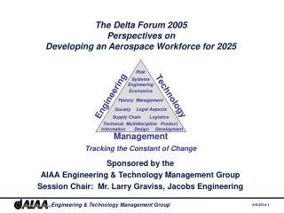 The Delta Forum 2005 Perspectives on  Developing an Aerospace Workforce for 2025