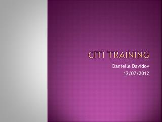 CITI Training