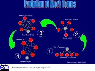 Evolution of Work Teams