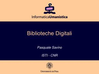 Biblioteche Digitali