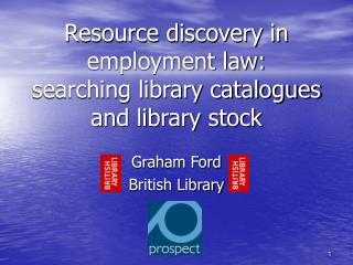Resource discovery in employment law: searching library catalogues and library stock