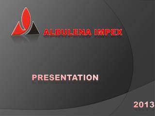 ALBULENA IMPEX