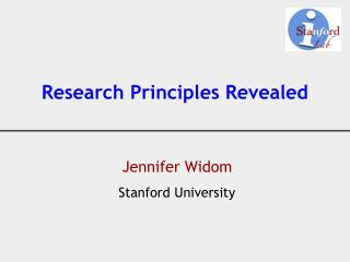 Research Principles Revealed