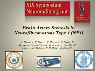 Brain Artery Stenosis in Neurofibromatosis Type 1 (NF1)