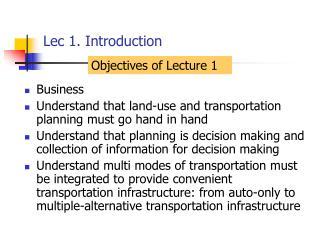 Lec 1. Introduction