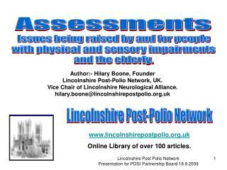 Lincolnshire Post-Polio Network