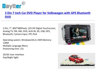 "7"" LED HD Digital Screen  Resolution: 800×480 Pixels, Screen format:  16:9"