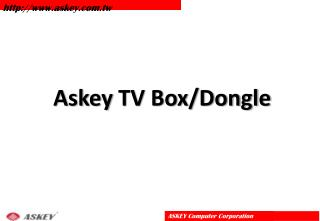 Askey  TV Box/Dongle