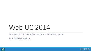 Web UC 2014