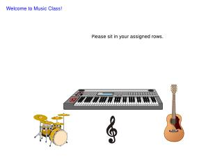 Welcome to Music Class!