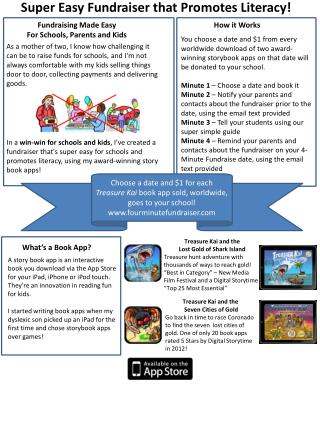 Super Easy Fundraiser that Promotes Literacy!