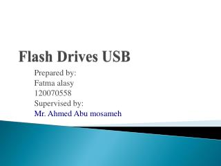 Flash Drives USB