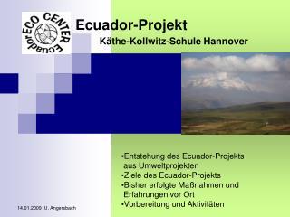 Ecuador-Projekt