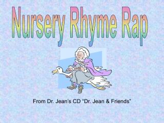 Nursery Rhyme Rap