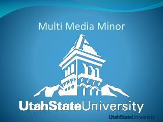 Multi Media Minor