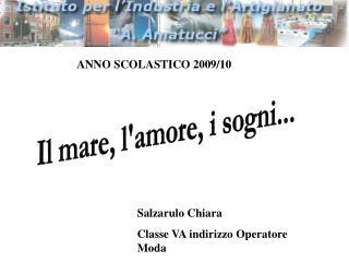 ANNO SCOLASTICO 2009/10