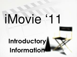 iMovie  � 11