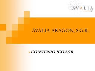 AVALIA ARAGON, S.G.R.