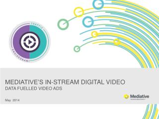 MEDIATIVE'S IN-STREAM DIGITAL  VIDEO DATA FUELLED VIDEO ADS