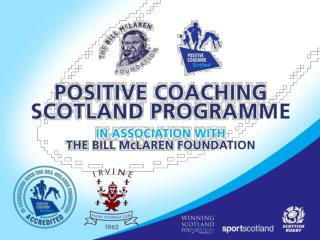 Scottish Rugby PCS Programme  A personal view