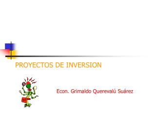 PROYECTOS DE INVERSION