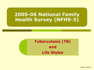 NFHS-3, 2005-06