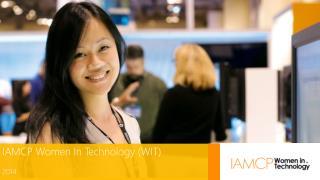 IAMCP Women In Technology (WIT)