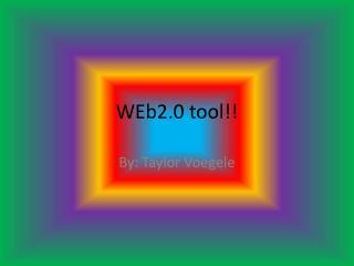 WEb2.0 tool!!