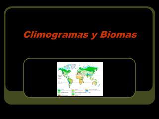 Climogramas y Biomas