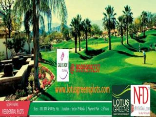 Lotus Greens Plots Noida - Bringing Gladness @ 9999999237