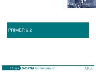PRIMER 9.2