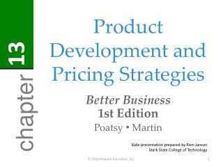 Product Development and Pricing Strategies