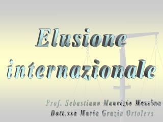 Elusione internazionale