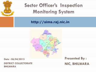 Sector Officer�s  Inspection Monitoring System