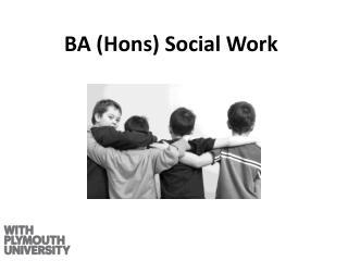 BA ( Hons ) Social Work