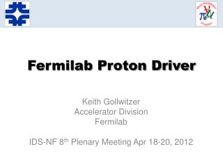 Fermilab Proton Driver