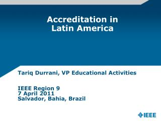 Accreditation in Latin America