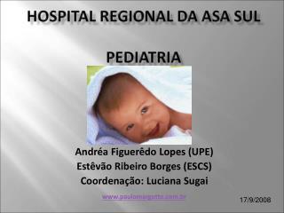 Andréa Figuerêdo Lopes (UPE) Estêvão Ribeiro Borges (ESCS) Coordenação: Luciana Sugai
