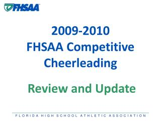 Comprehensive review of competitive cheerleading information