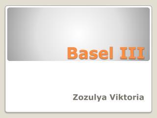 Basel III
